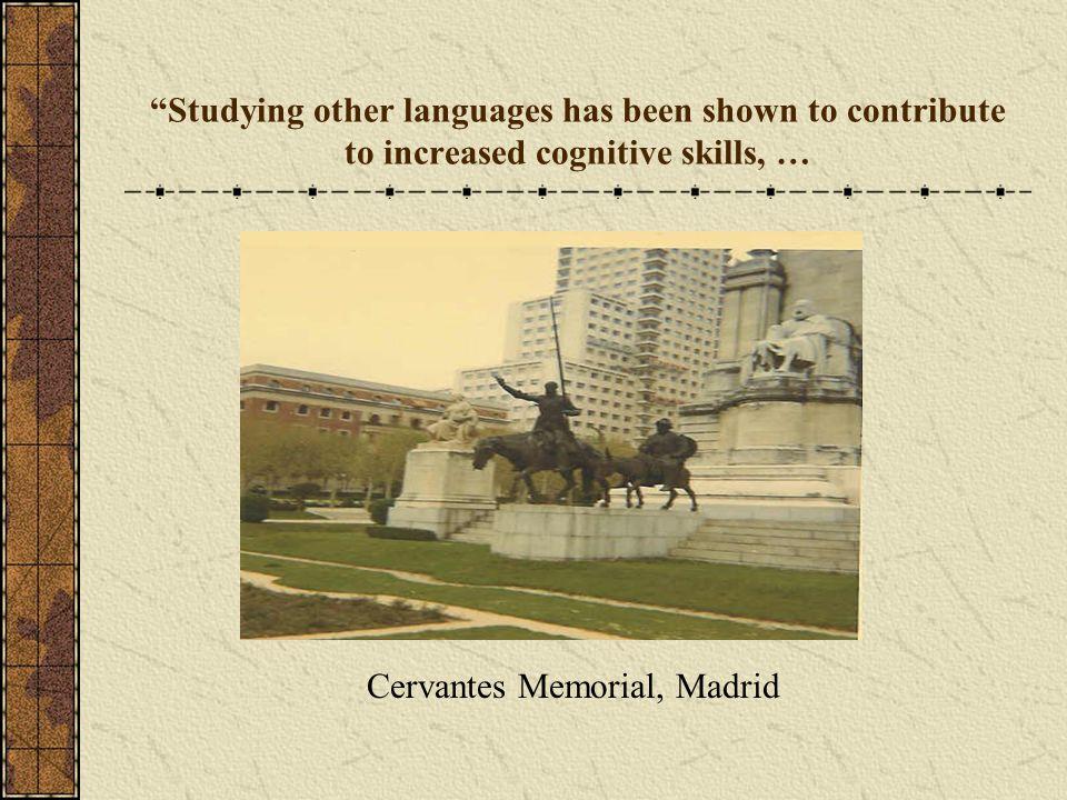 Cervantes Memorial, Madrid