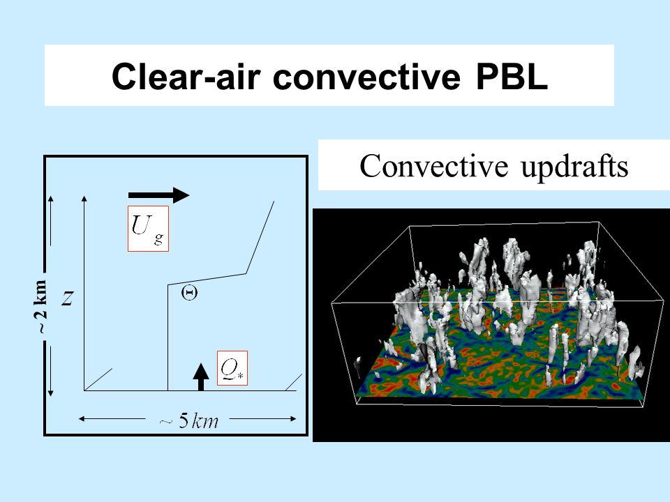 Clear-air convective PBL