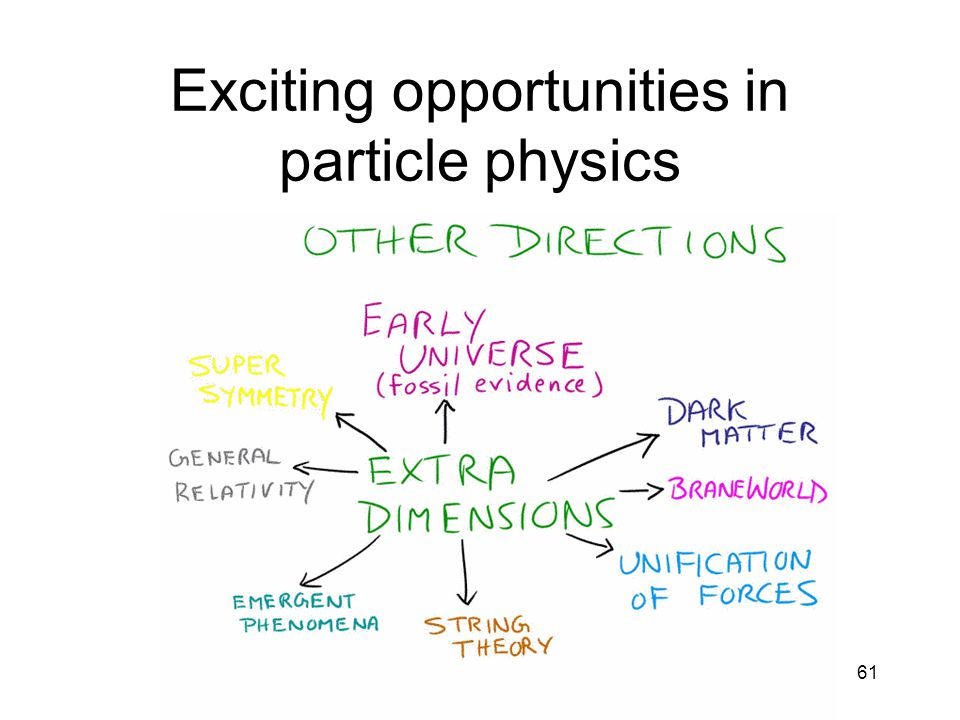 Exciting opportunities in particle physics