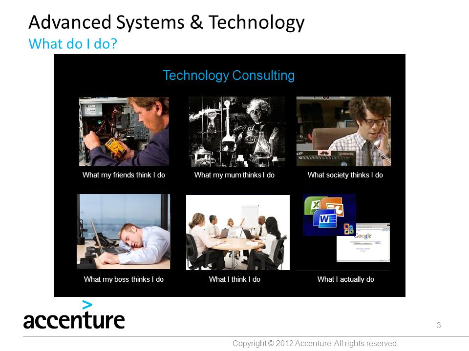 Advanced Systems & Technology What do I do