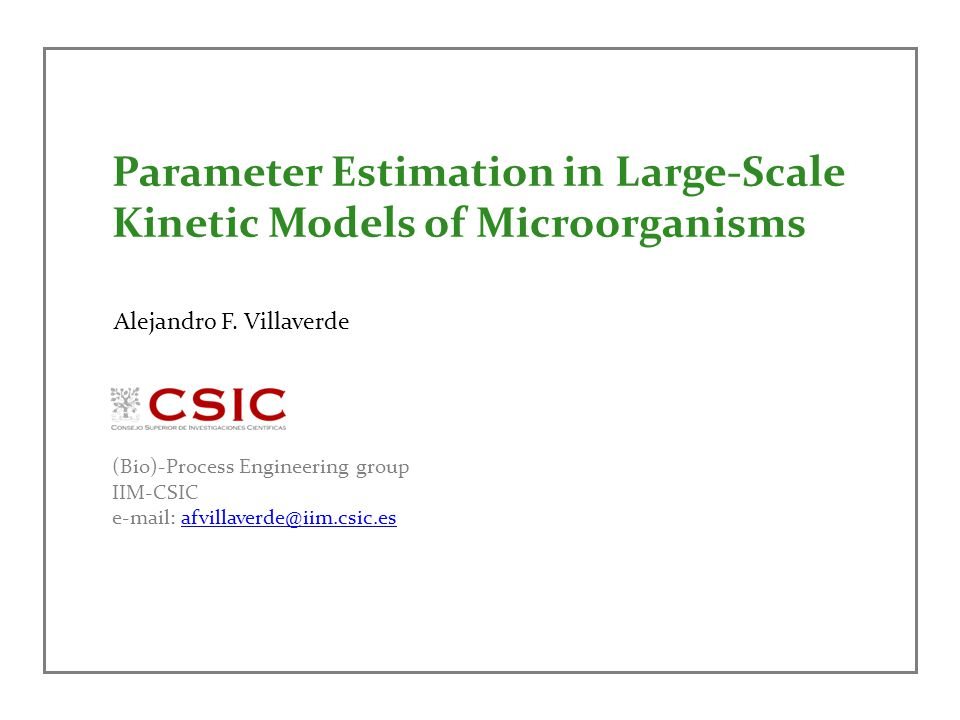 Parameter Estimation in Large-Scale Kinetic Models of Microorganisms