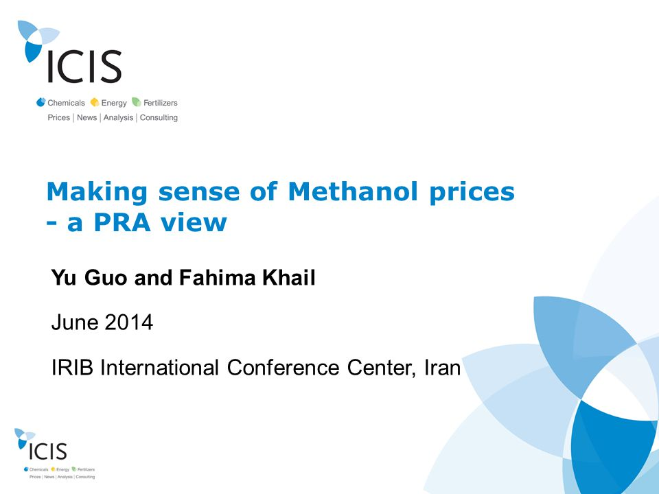 Making sense of Methanol prices - a PRA view