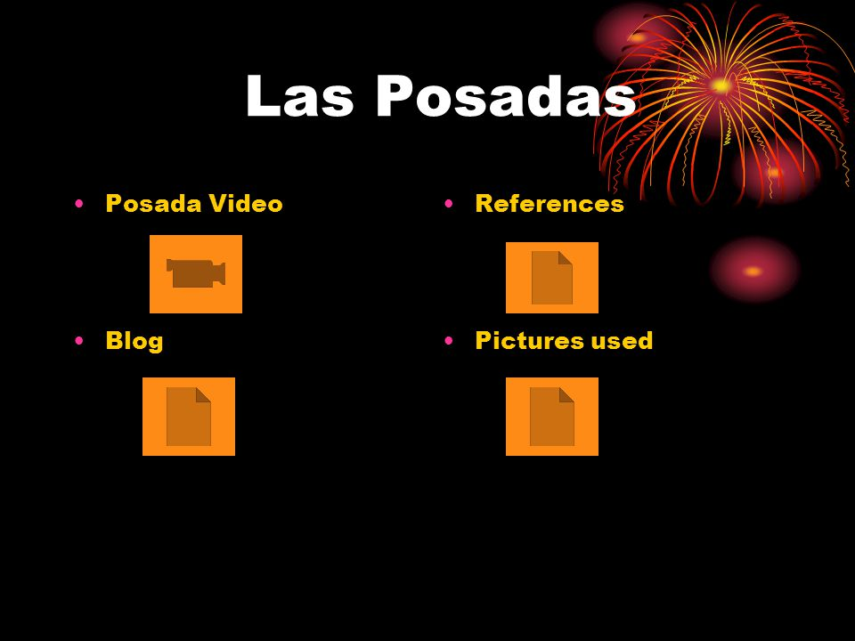 Las Posadas Posada Video Blog References Pictures used