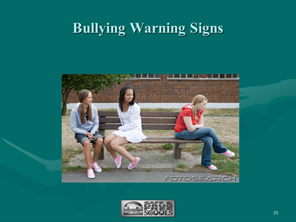 Bullying Warning Signs