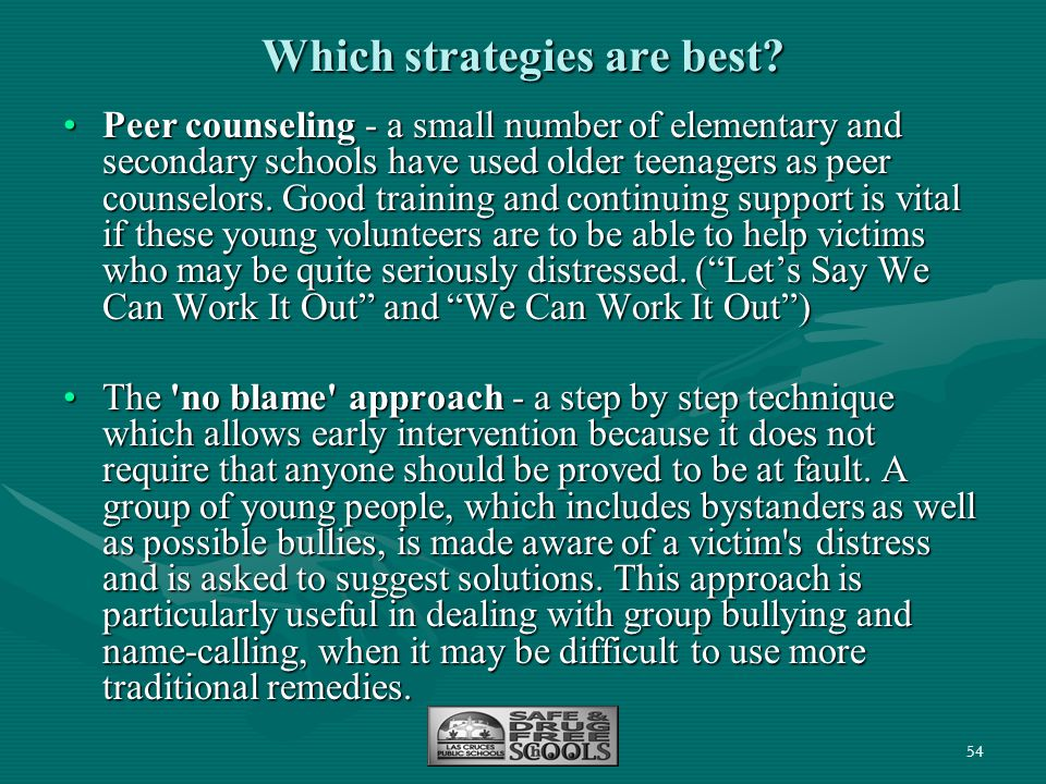 Which strategies are best