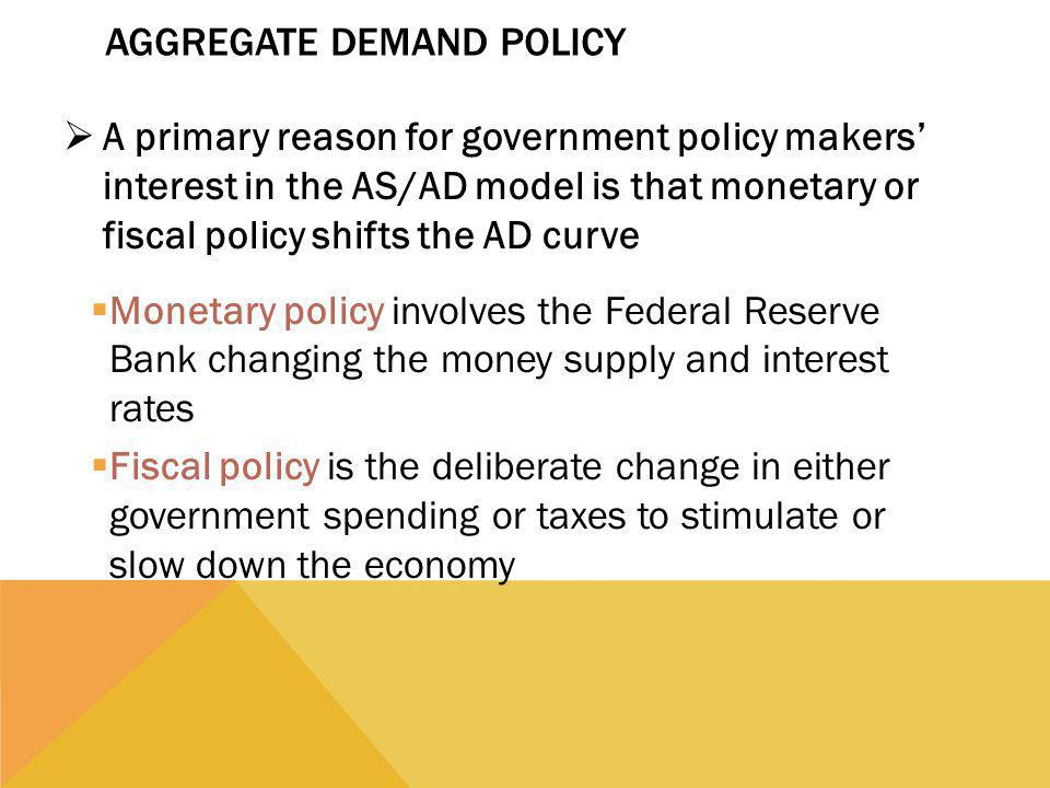 Aggregate Demand Policy