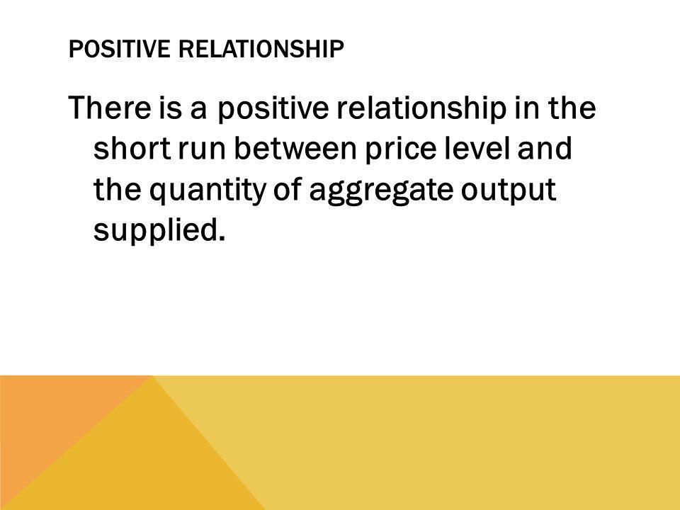 Positive Relationship
