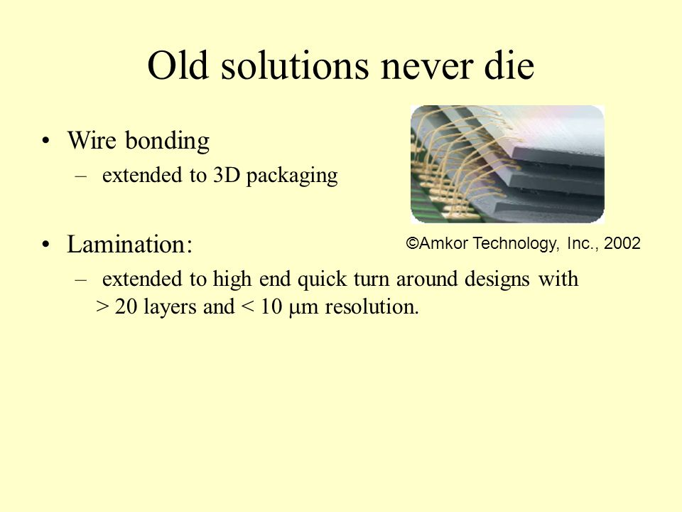 Old solutions never die