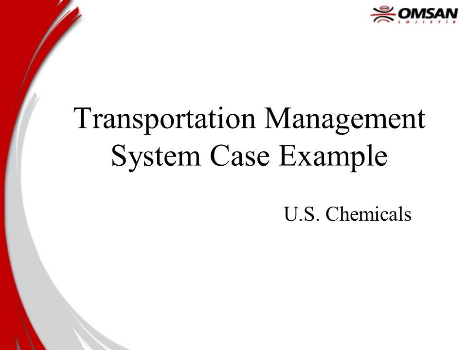 Transportation Management System Case Example