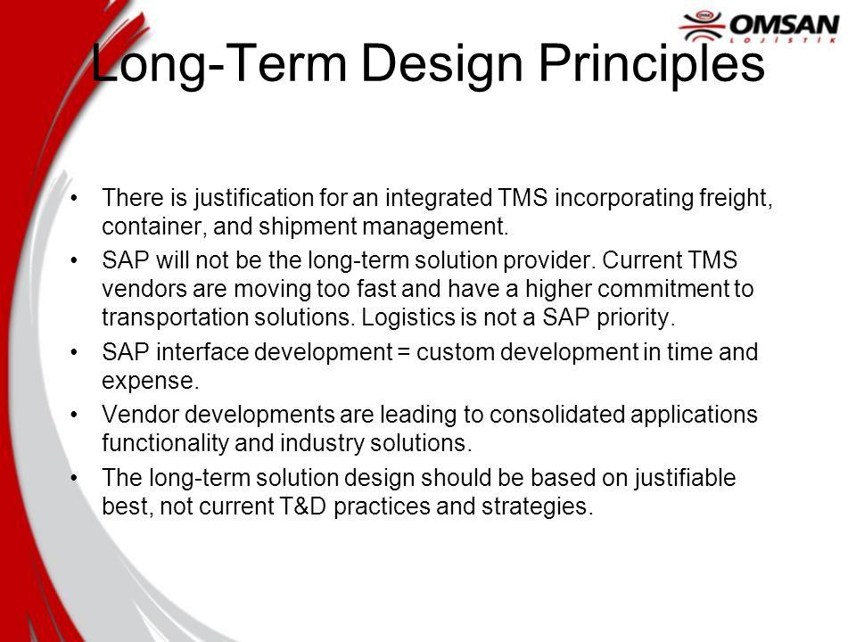 Long-Term Design Principles