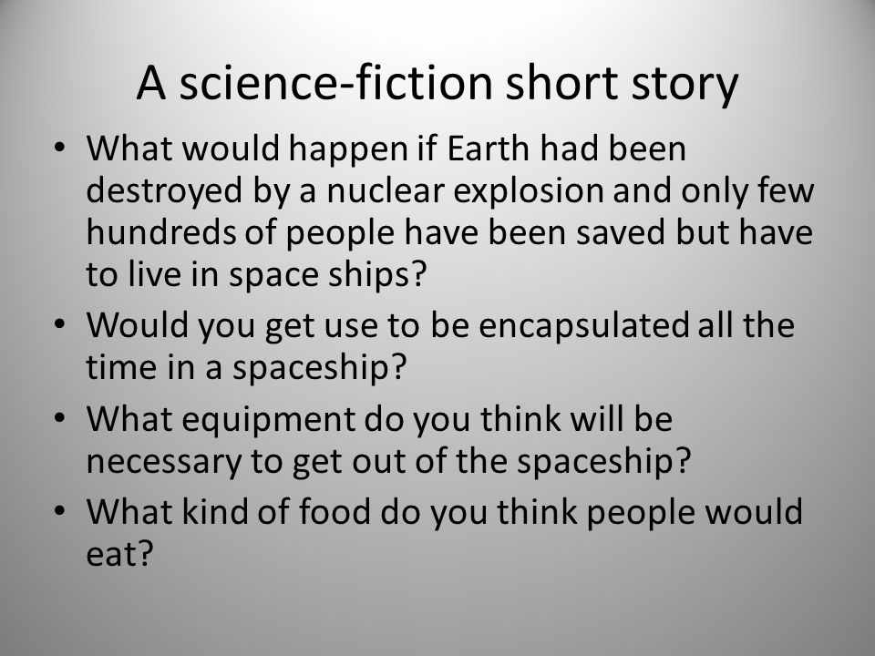 A science-fiction short story