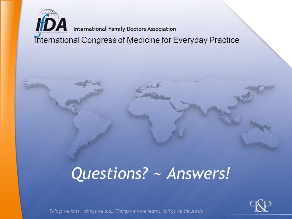 International Congress of Medicine for Everyday Practice