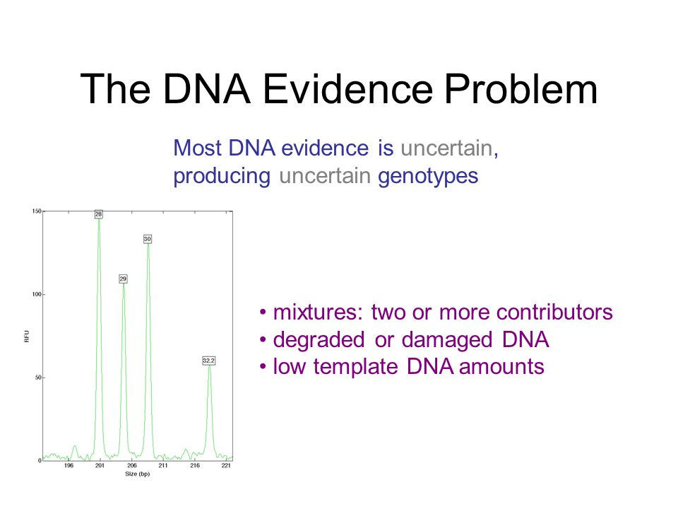 The DNA Evidence Problem