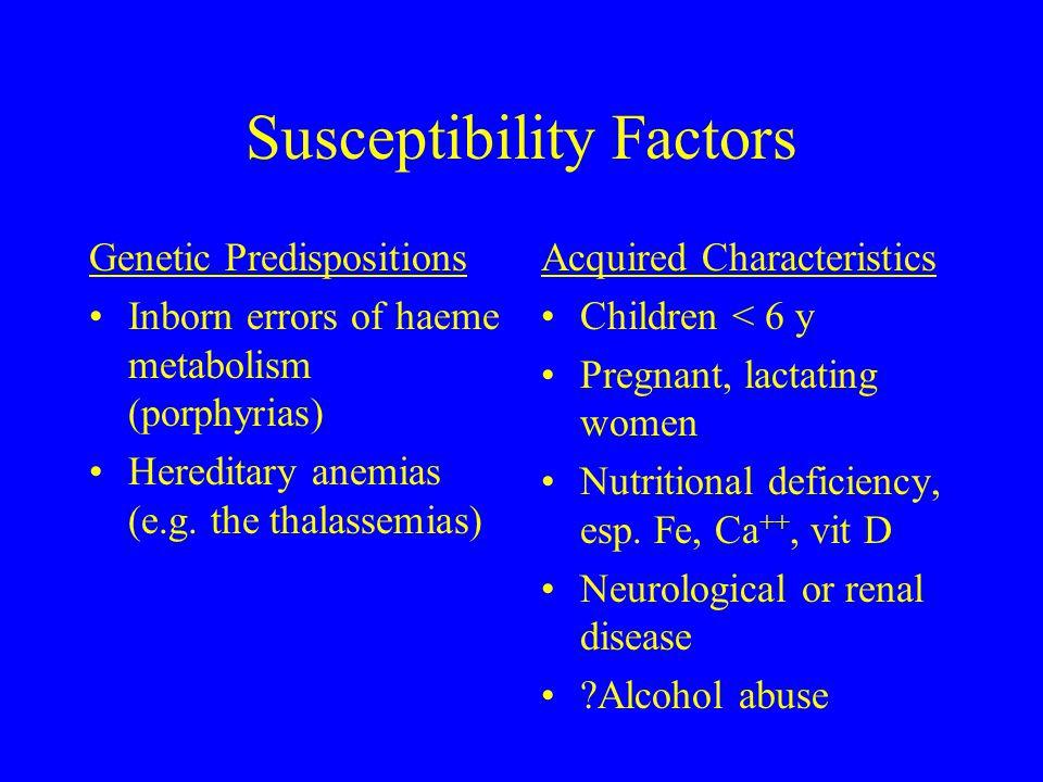 Susceptibility Factors