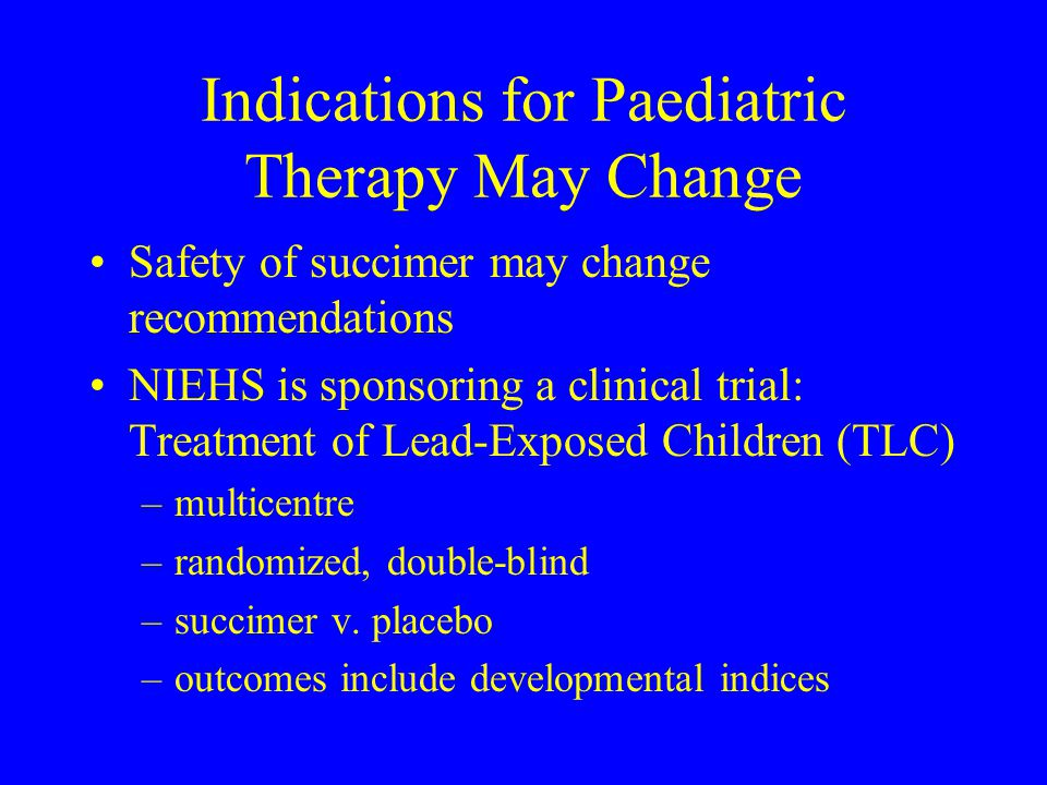 Indications for Paediatric Therapy May Change