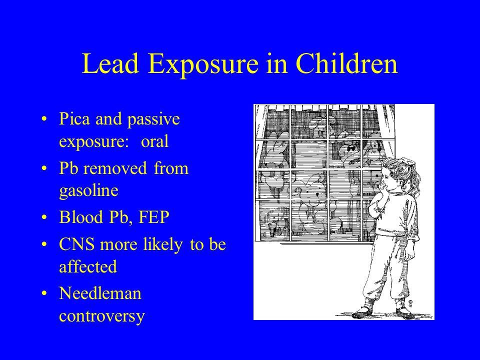 Lead Exposure in Children