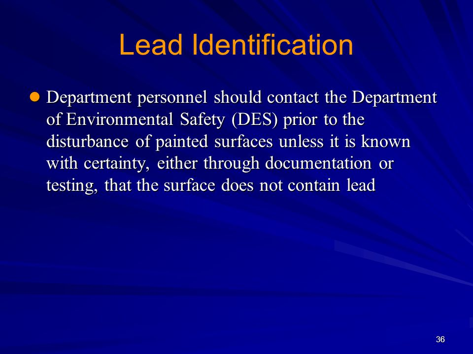 Lead Identification