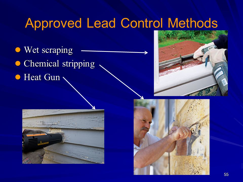 Approved Lead Control Methods
