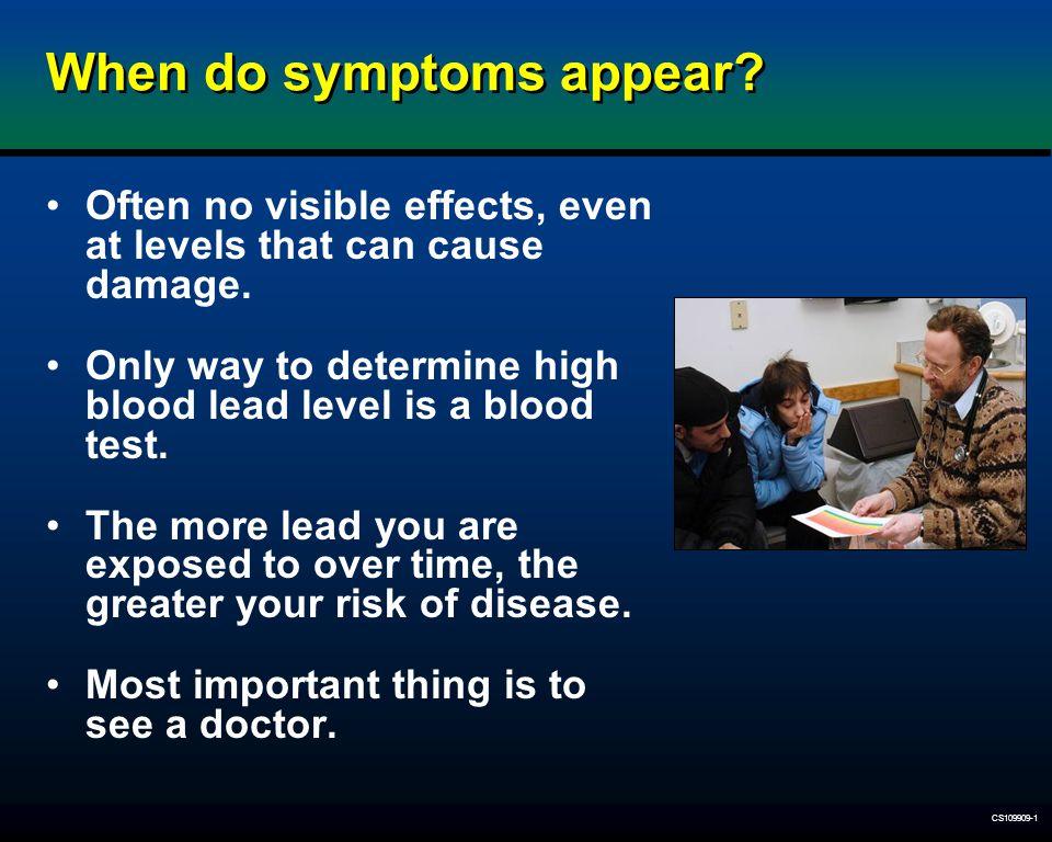 When do symptoms appear