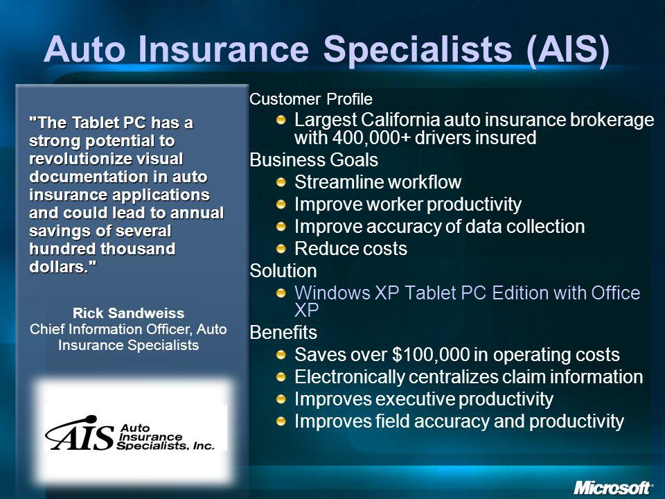 Auto Insurance Specialists (AIS)