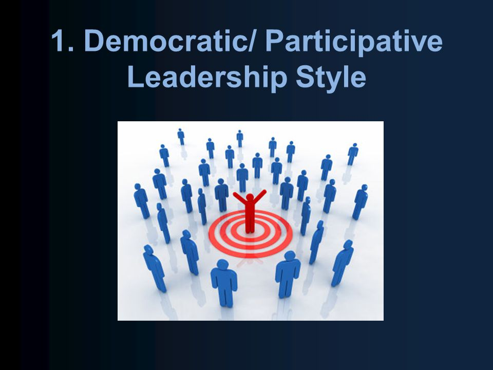democratic style of leadership While democratic leadership has been described as the most effective decision-making style, it does have a downside the time that it takes to reach a group consensus.