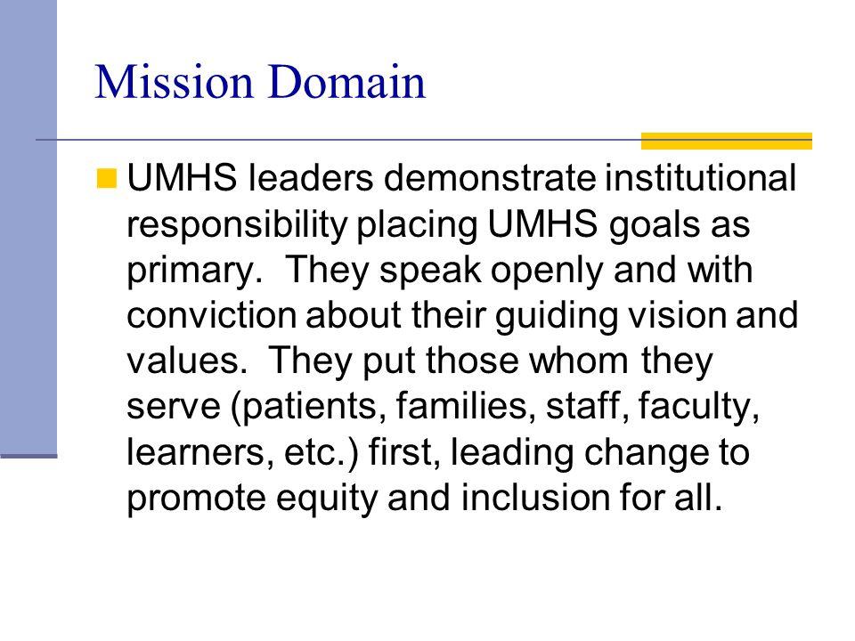 Mission Domain