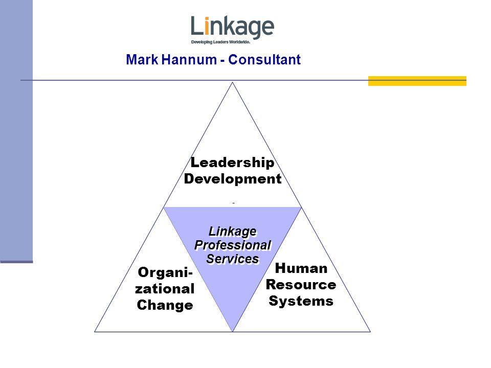 Mark Hannum - Consultant