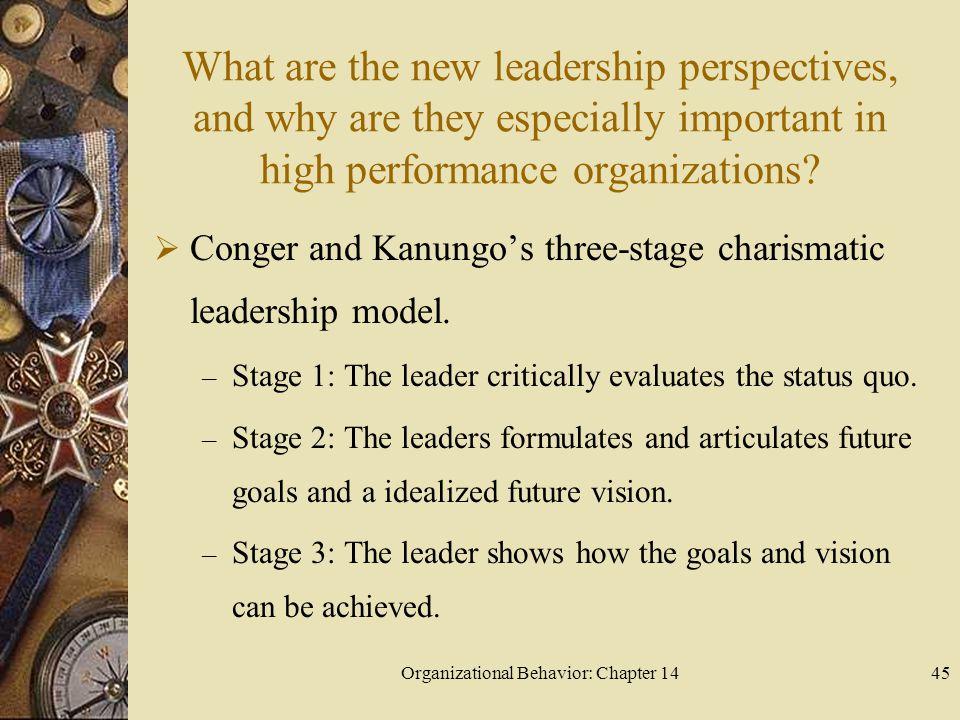 Organizational Behavior: Chapter 14