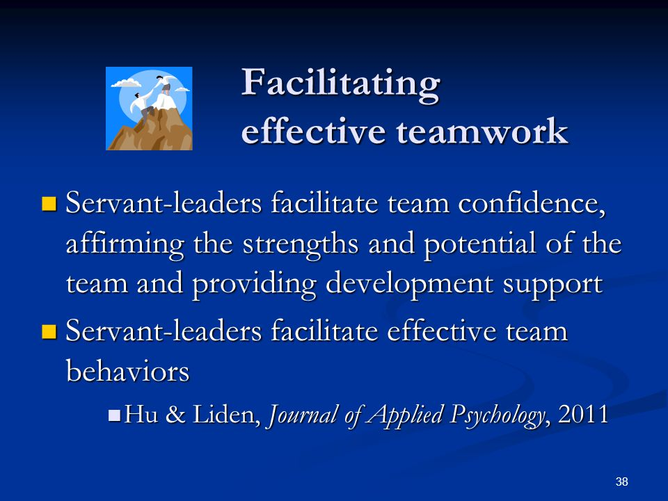 Facilitating effective teamwork