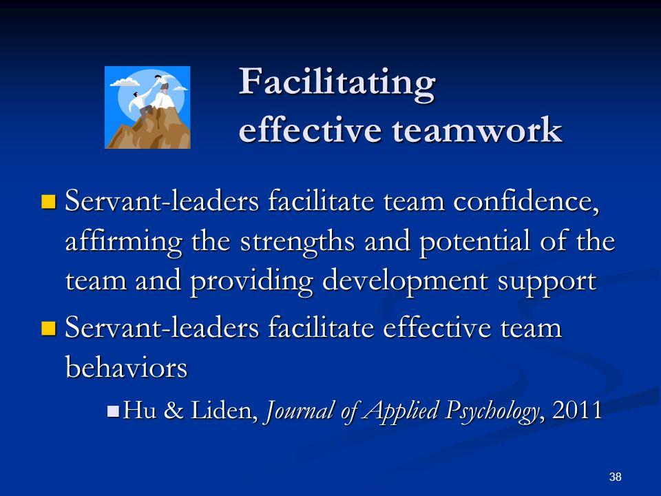 Facilitating effective teamwork