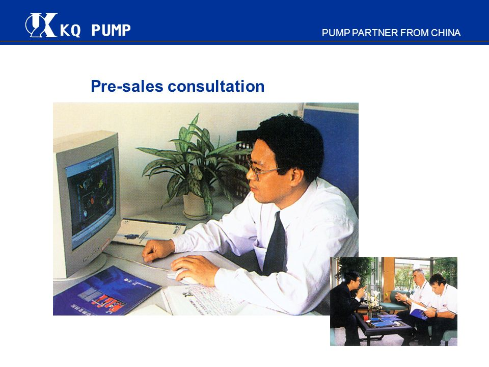 Pre-sales consultation
