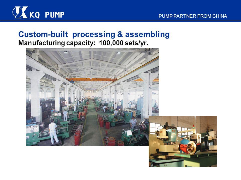 Custom-built processing & assembling