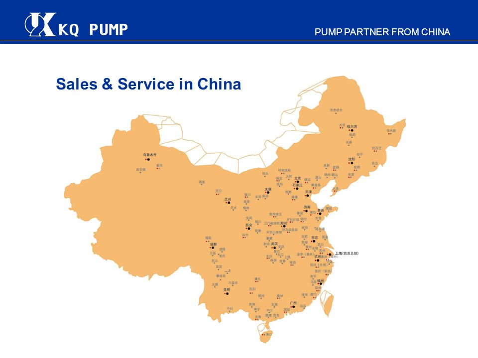 Sales & Service in China