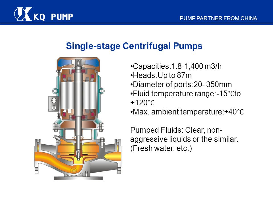 Single-stage Centrifugal Pumps