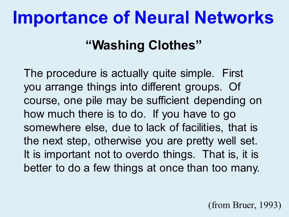 Importance of Neural Networks