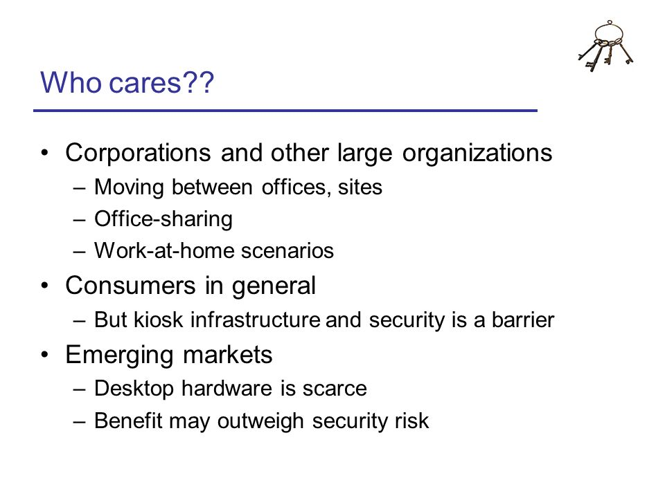 Who cares Corporations and other large organizations