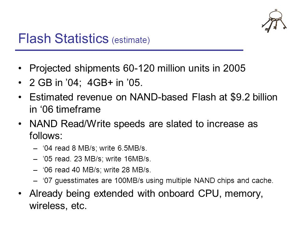 Flash Statistics (estimate)