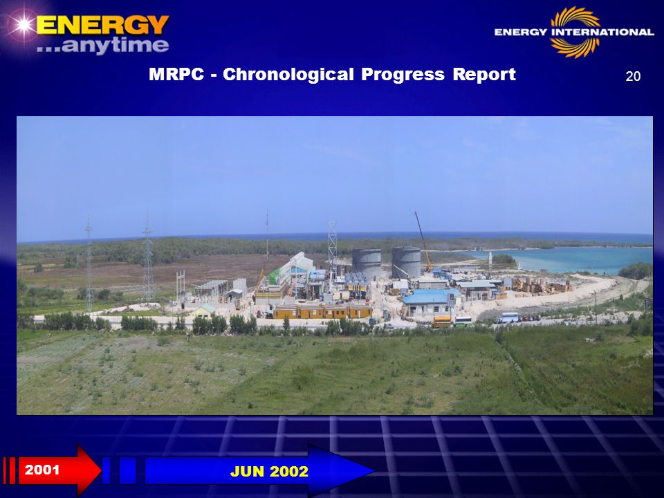MRPC - Chronological Progress Report