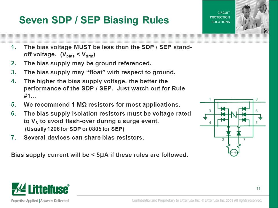 Seven SDP / SEP Biasing Rules