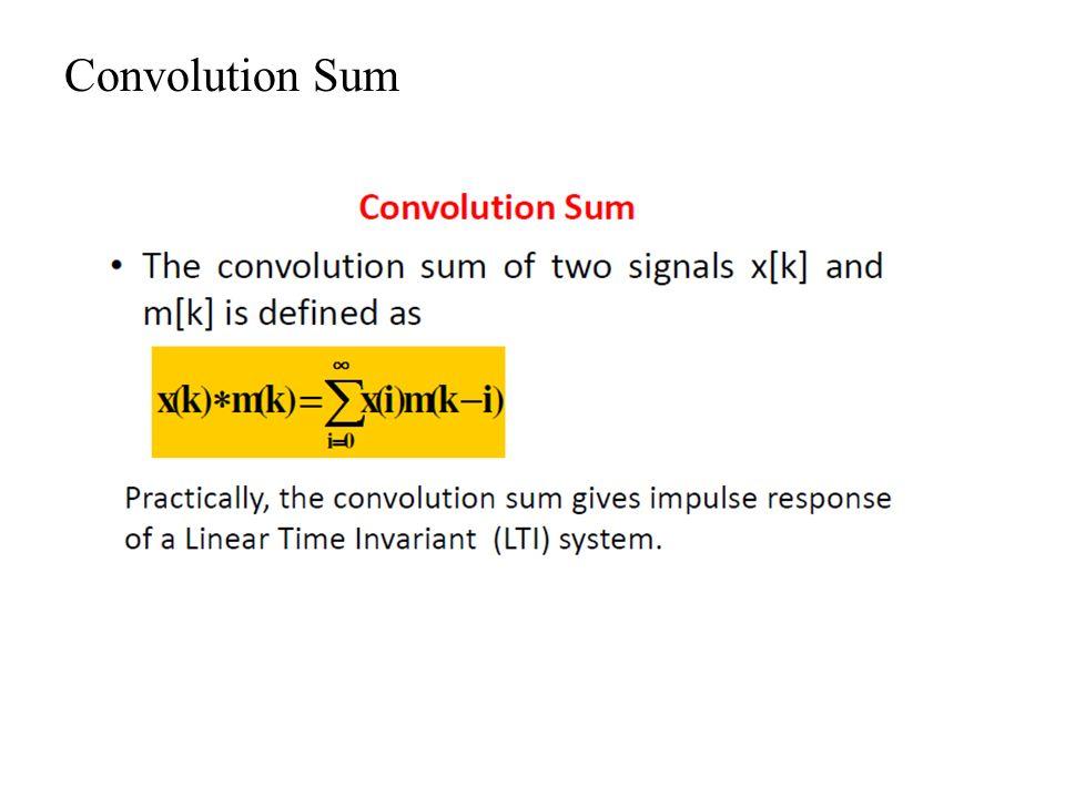 Convolution Sum