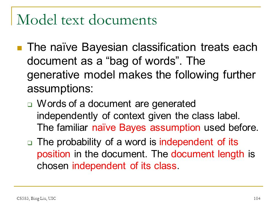 Model text documents