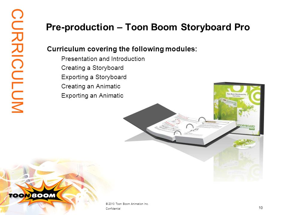 Pre-production – Toon Boom Storyboard Pro