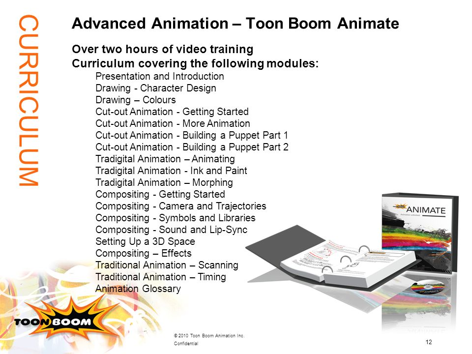 Advanced Animation – Toon Boom Animate