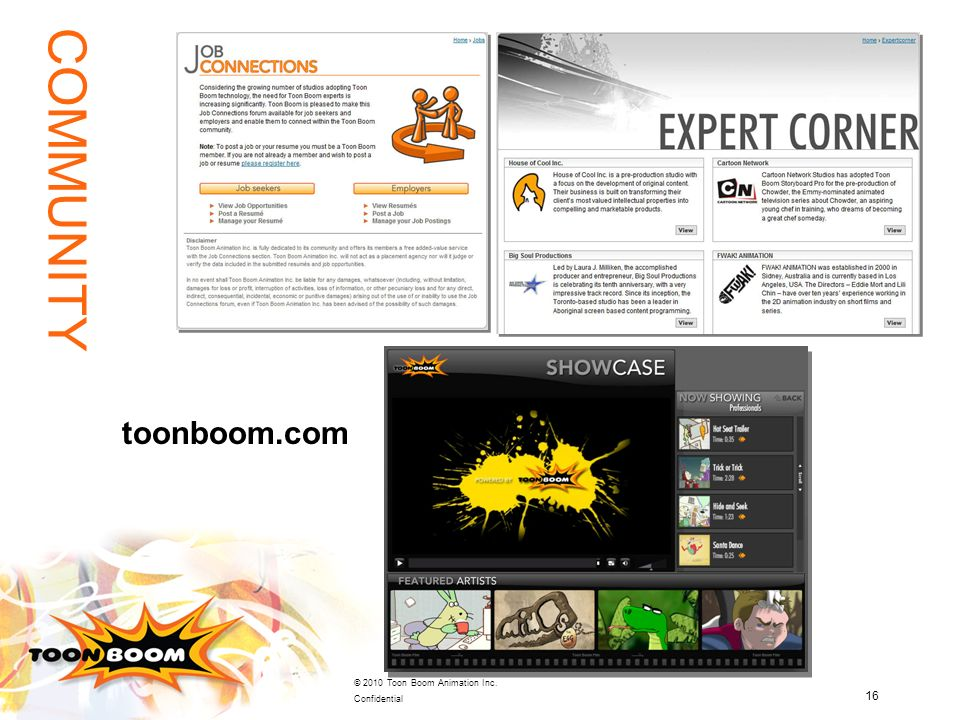 COMMUNITY toonboom.com