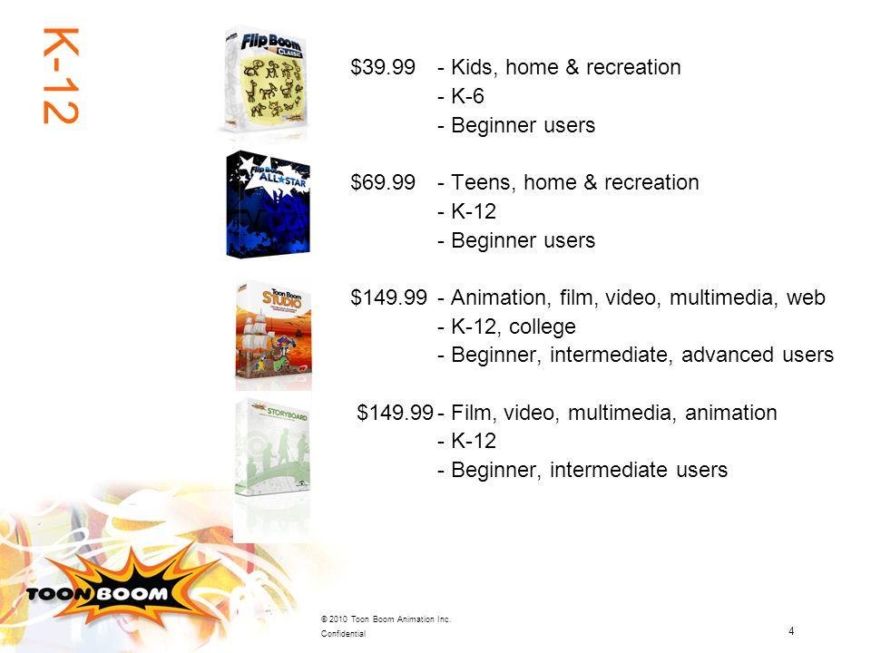 K-12 $39.99 - Kids, home & recreation - K-6 - Beginner users