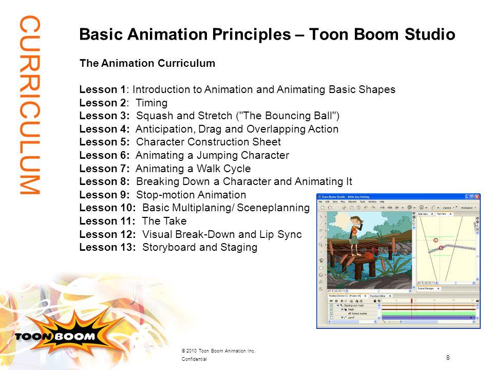 Basic Animation Principles – Toon Boom Studio