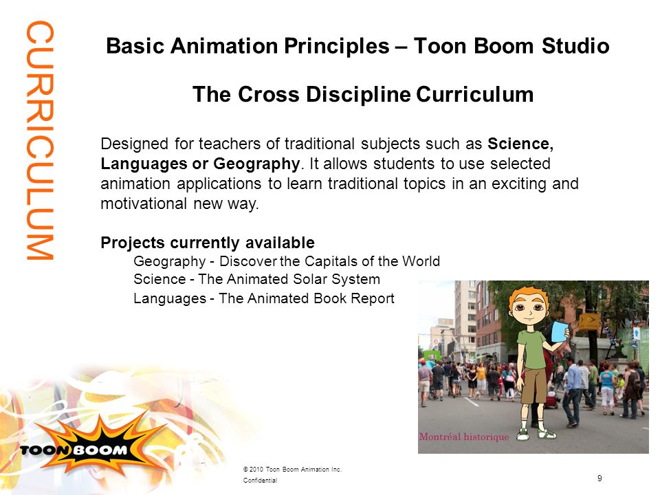 Basic Animation Principles – Toon Boom Studio