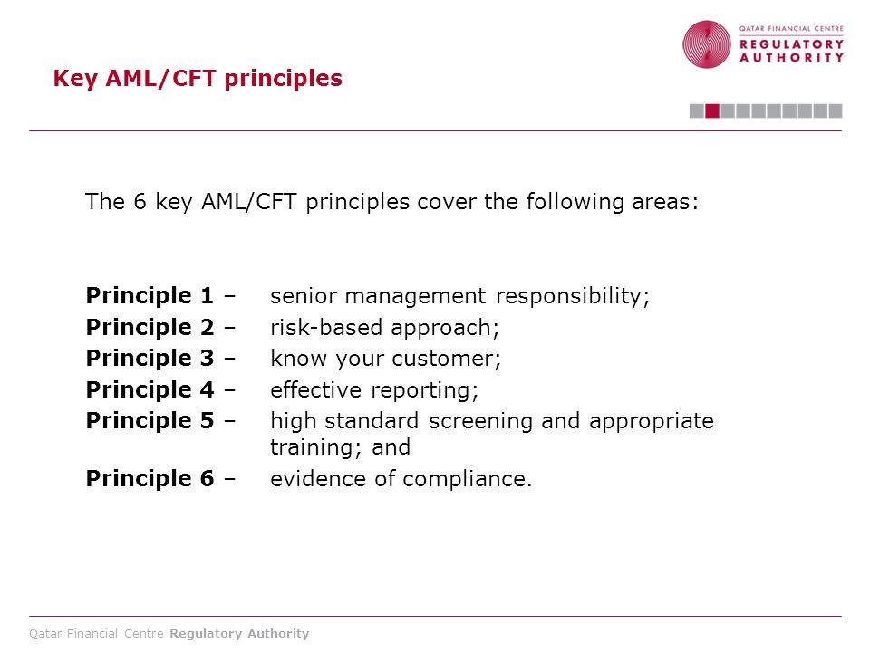 Key AML/CFT principles