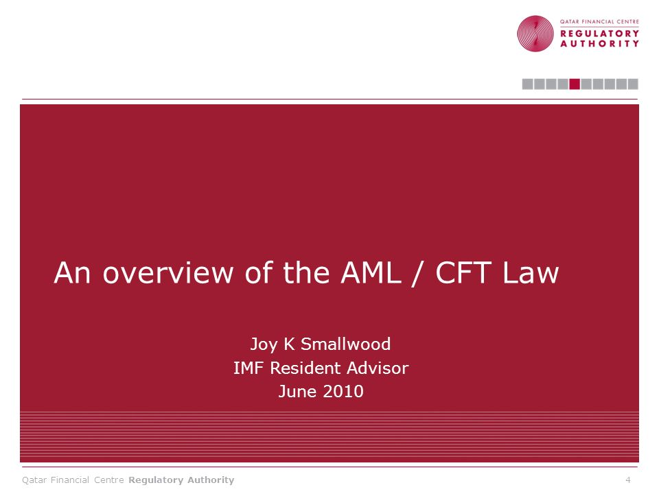 An overview of the AML / CFT Law