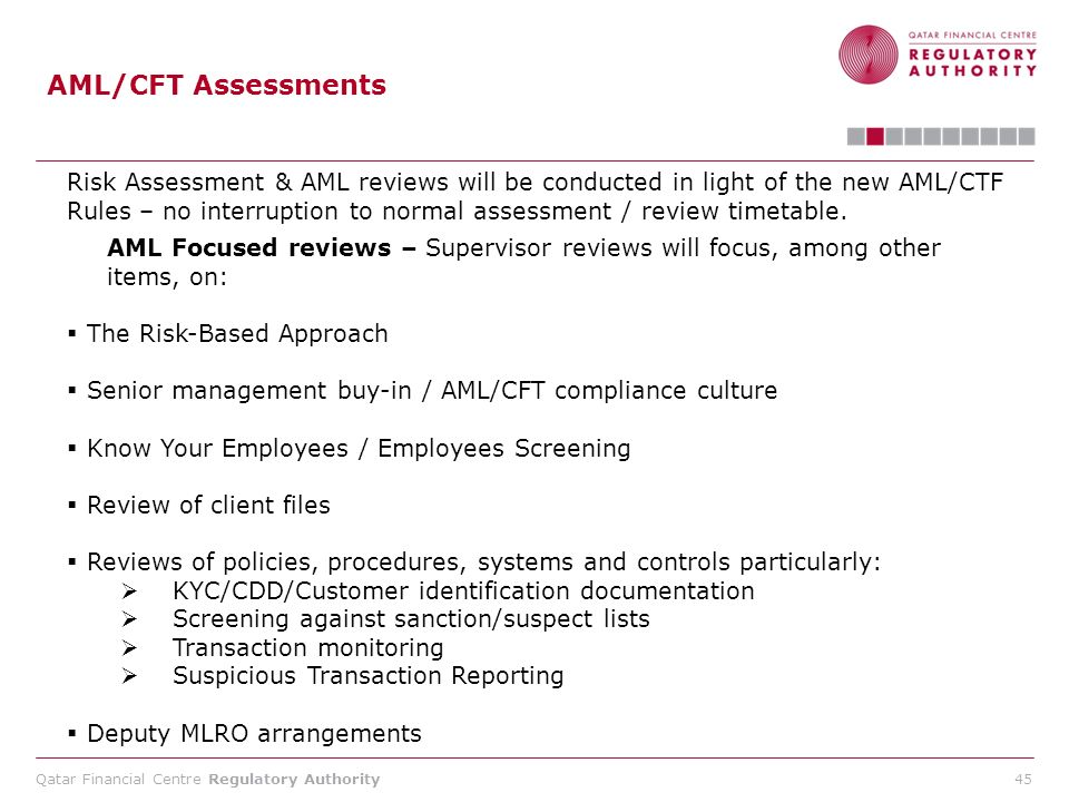 AML/CFT Assessments